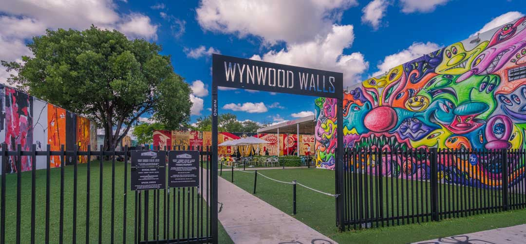 Wynwood Walls Miami Entrance